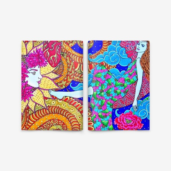 Обложка для паспорта «Духовный поиск закончился осознанием»