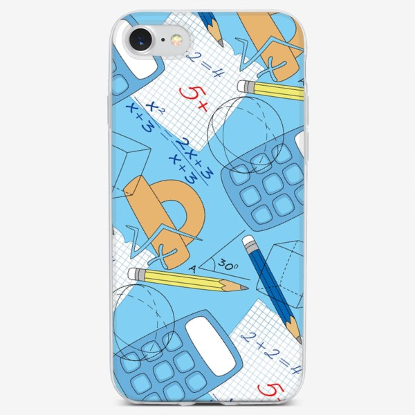 Чехол iPhone «Математические элементы»