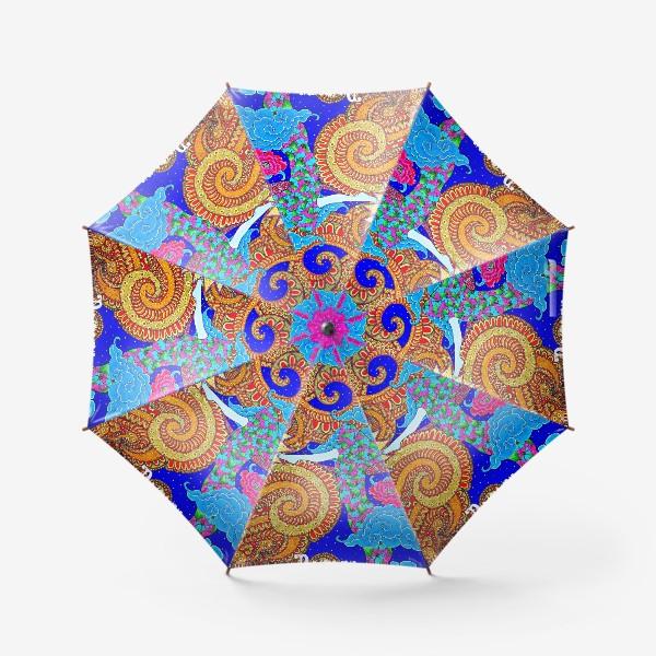 Зонт «Духовный поиск закончился осознанием»