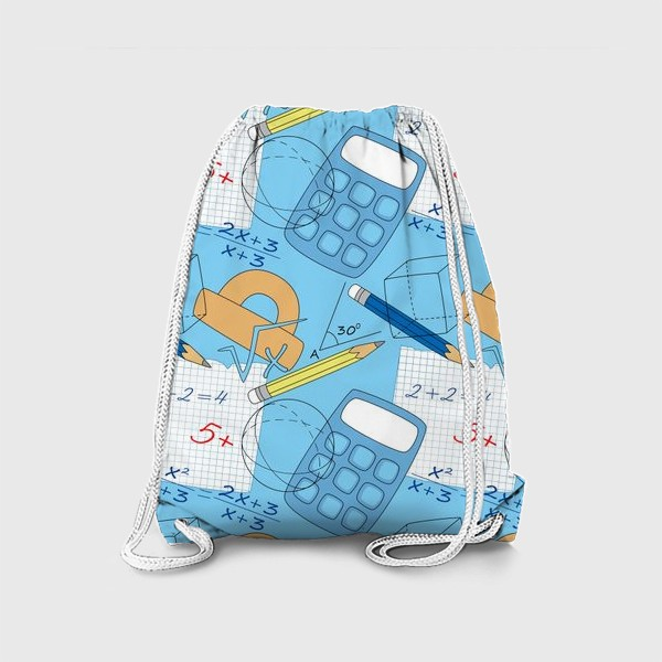 Рюкзак «Математические элементы»