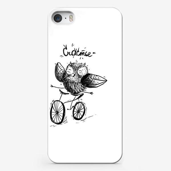Чехол iPhone «Счастливая сова»