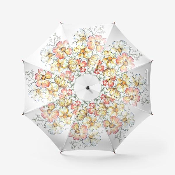 Зонт «ромашки»