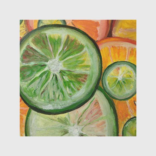 Скатерть «Лимон и апельсин»