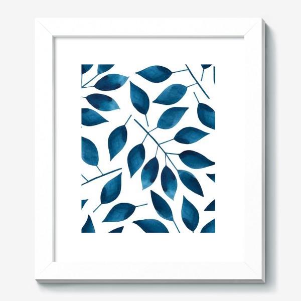 Картина «Синие листья»
