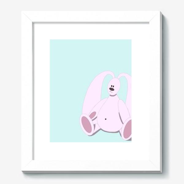 Картина «Розовый зайчик»
