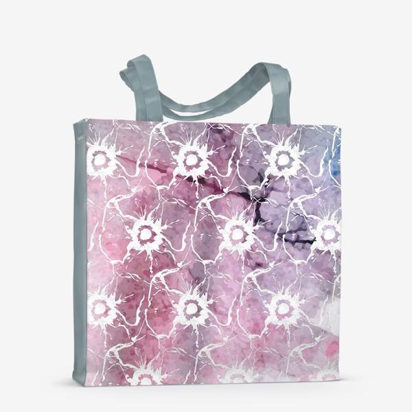 Сумка-шоппер «Яркие цветы анемоны»