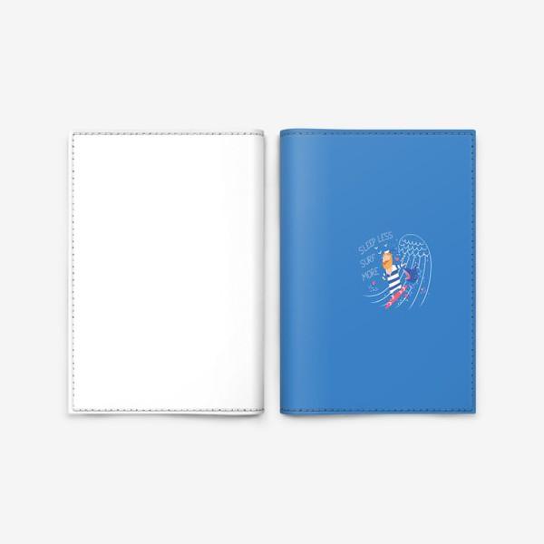 Обложка для паспорта «Серфер»