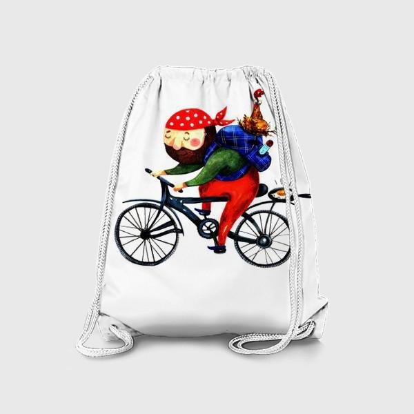 Рюкзак «Суровый Велосипедист»