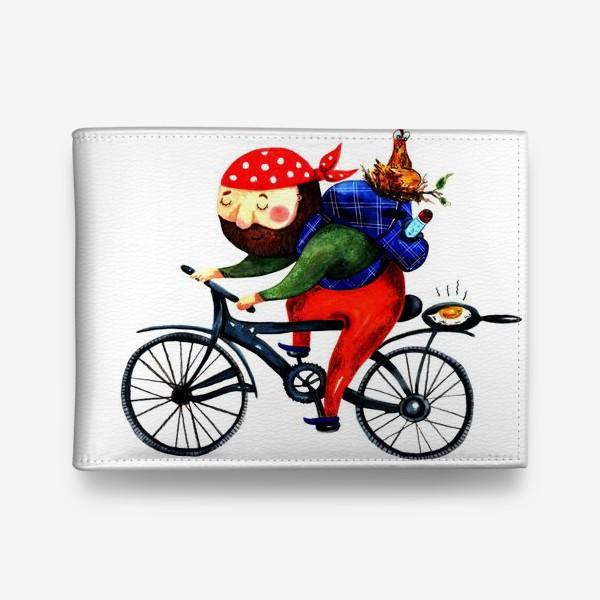 Кошелек «Суровый Велосипедист»
