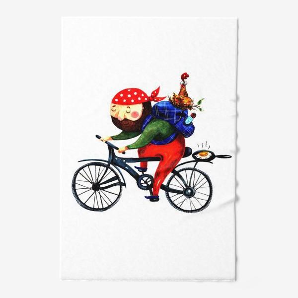 Полотенце «Суровый Велосипедист»