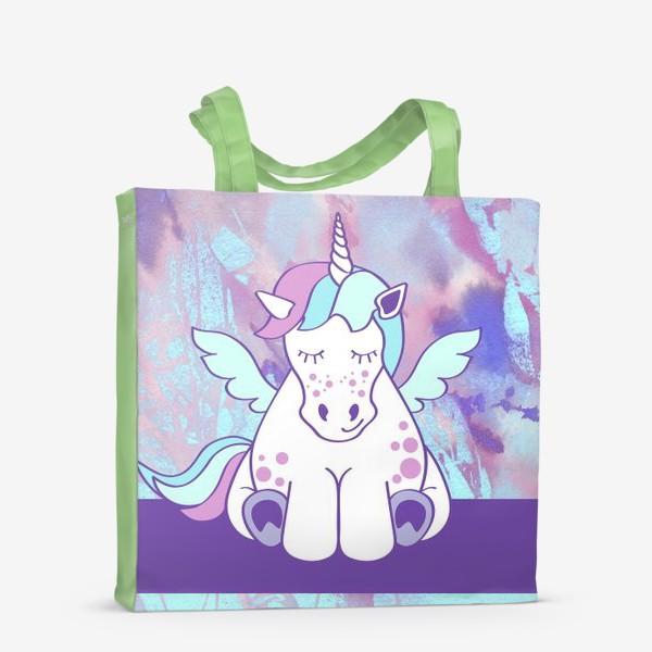 Сумка-шоппер «Счастливый Единорог»