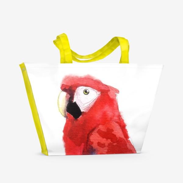 Пляжная сумка «ПОПУГАЙ»