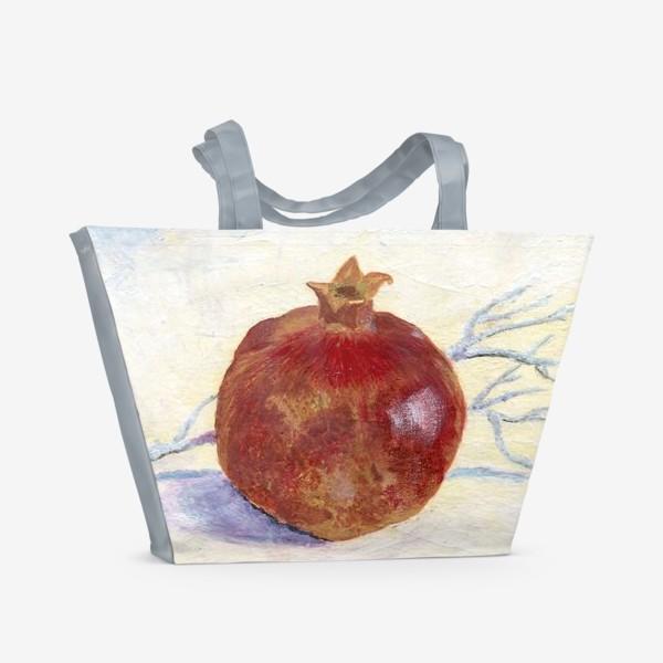 Пляжная сумка «Гранат»