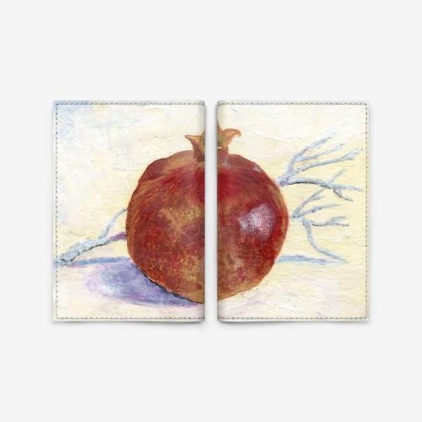 Обложка для паспорта «Гранат»