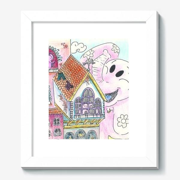 Картина «Атака розовых титанов»
