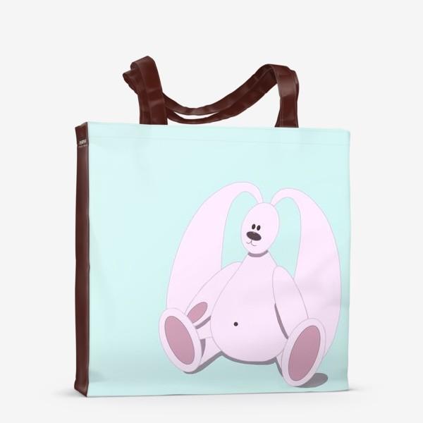 Сумка-шоппер «Розовый зайчик»
