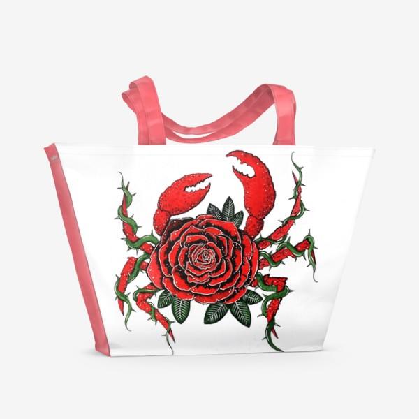 Пляжная сумка «Подарки для раков»