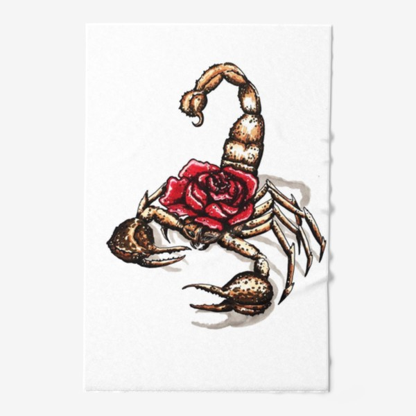 Полотенце «Подарок для скорпиона»
