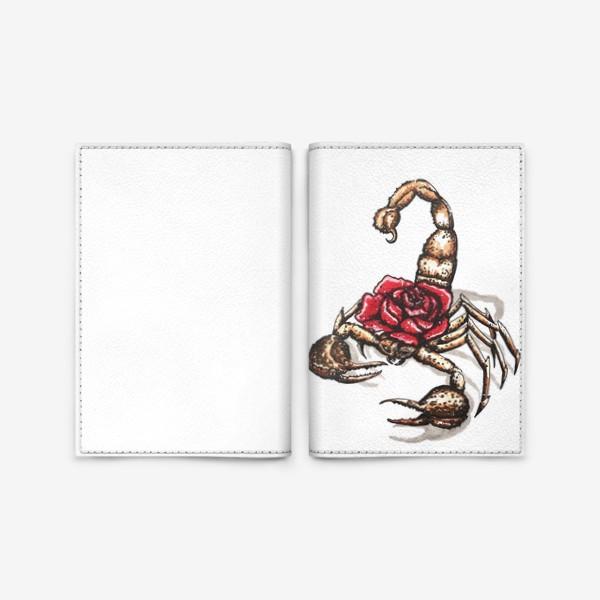 Обложка для паспорта «Подарок для скорпиона»