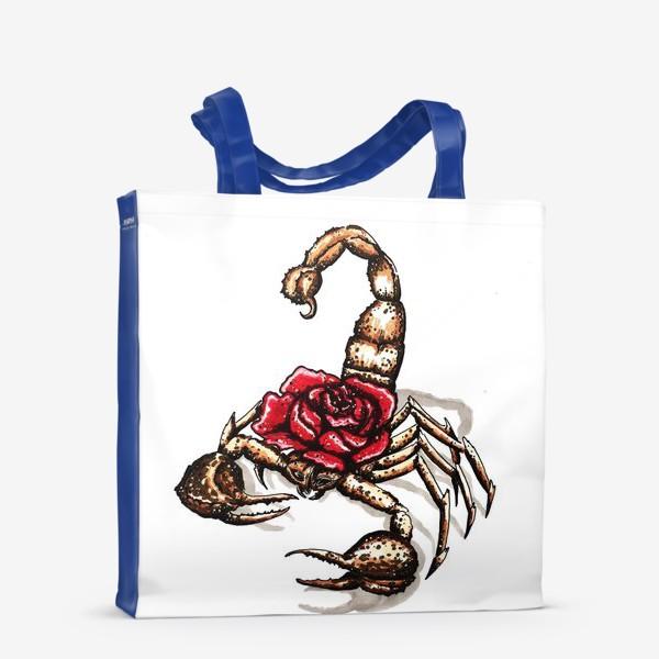 Сумка-шоппер «Подарок для скорпиона»
