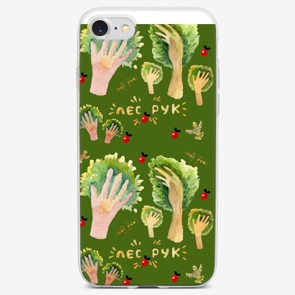 Чехол iPhone «лес рук»