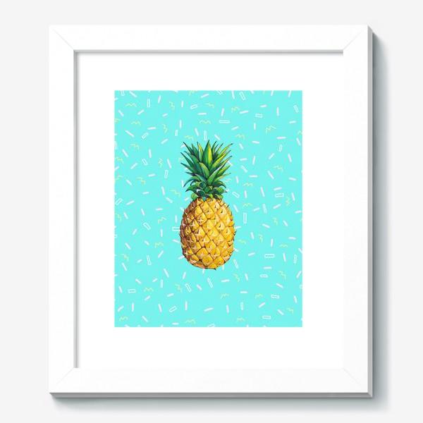 Картина «Сочный ананас »