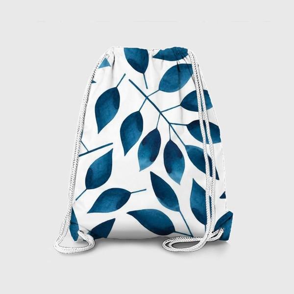 Рюкзак «Синие листья»