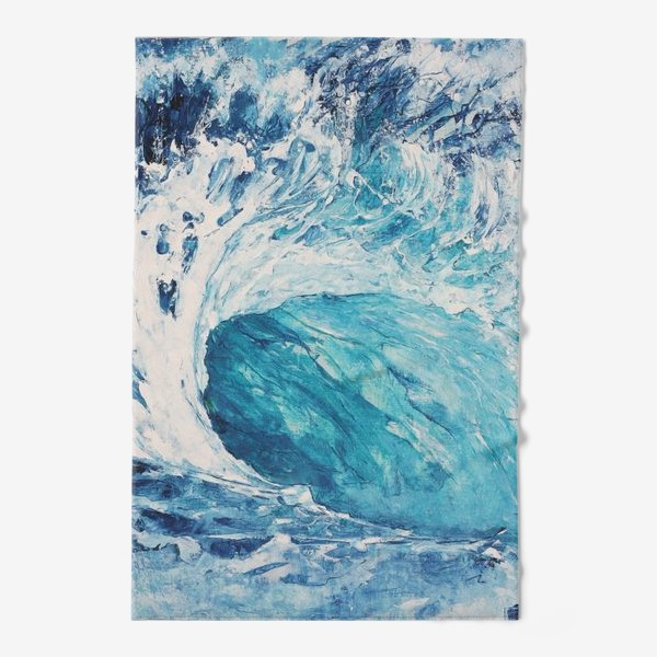 Полотенце «Морская волна. Море. Океан»