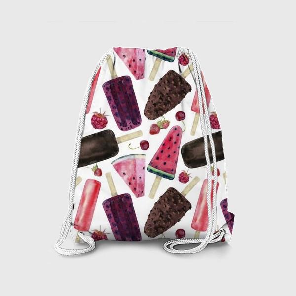 Рюкзак «мороженое,фрукты,ягоды»