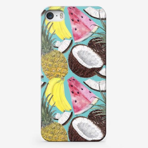 Чехол iPhone «фруктовый паттерн»