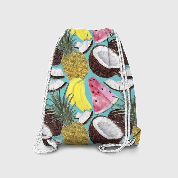 Рюкзак «фруктовый паттерн»