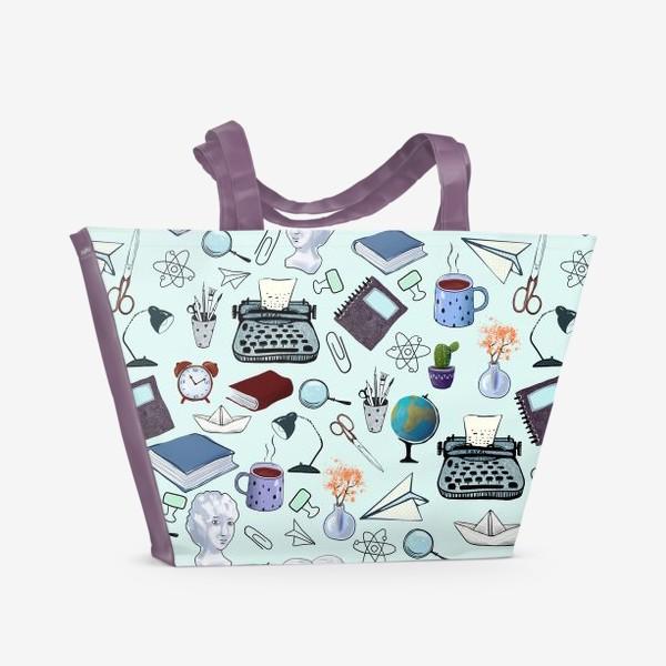 Пляжная сумка «Школьный вальс»