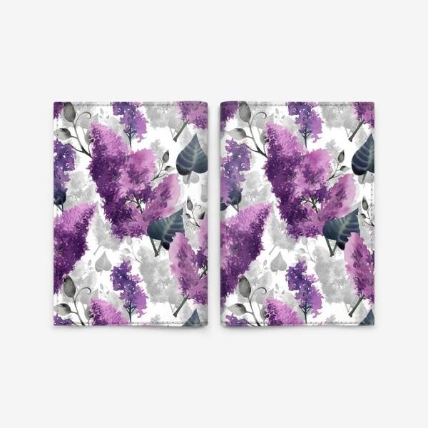 Обложка для паспорта «Lilac»
