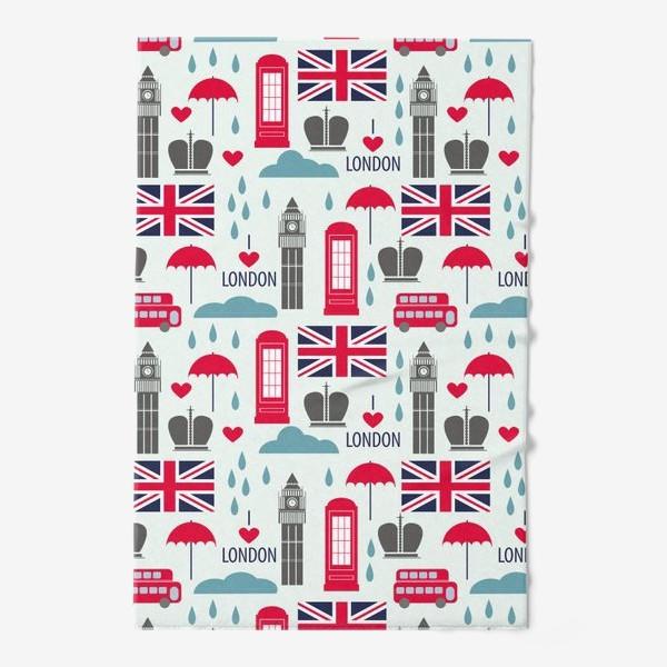 Полотенце «Паттерн Англия»