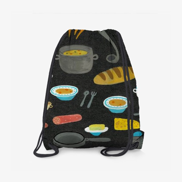 Рюкзак «вкусная и полезная еда»