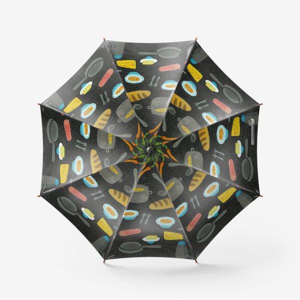 Зонт «вкусная и полезная еда»