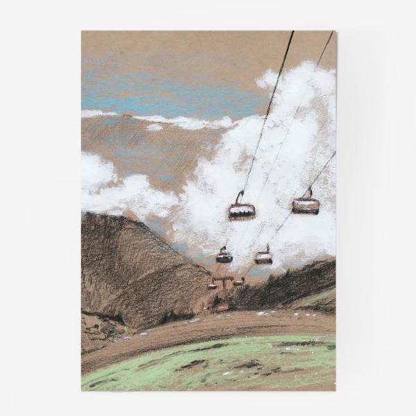 Постер «Над облаками В горах»