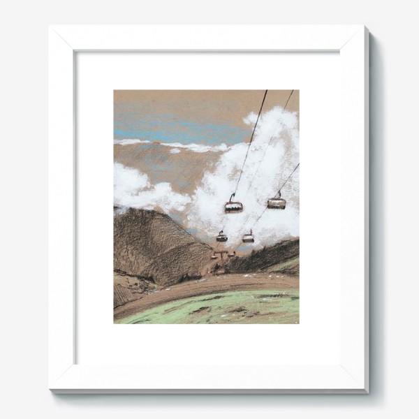 Картина «Над облаками В горах»