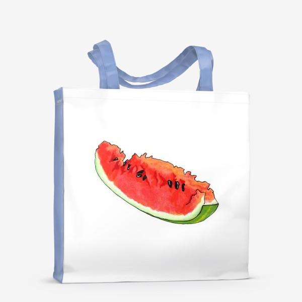 Сумка-шоппер «Жизнерадостный арбуз»