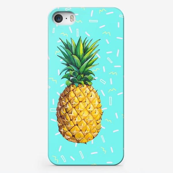 Чехол iPhone «Сочный ананас »