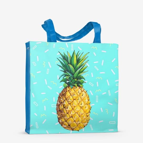 Сумка-шоппер «Сочный ананас »