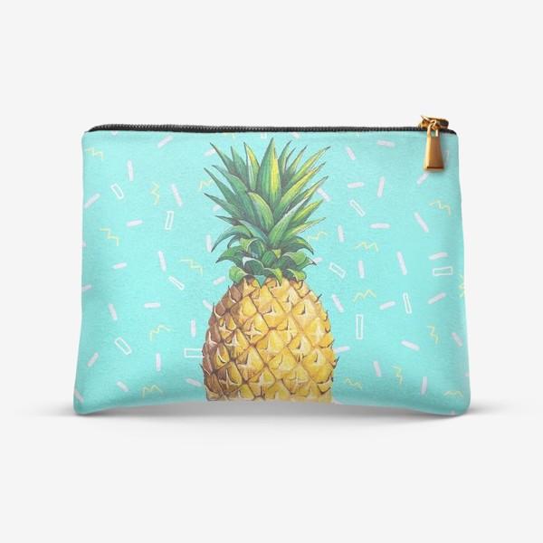 Косметичка «Сочный ананас »