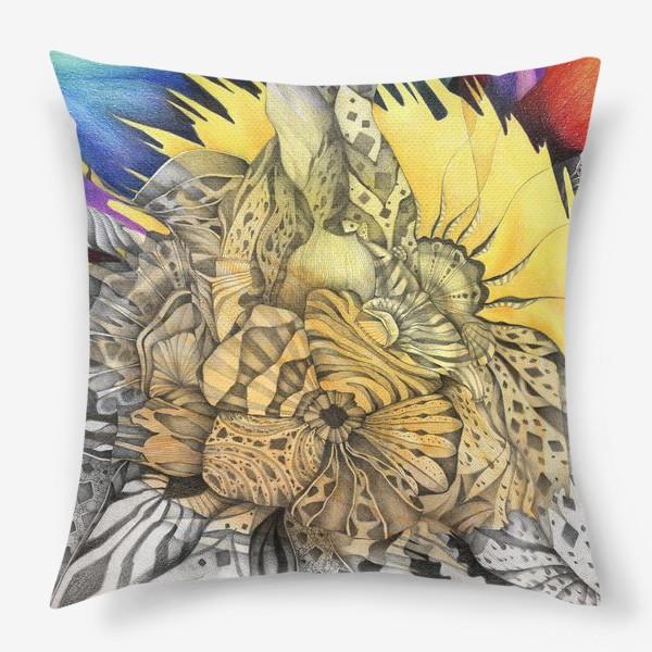 Подушка «Узор, орнамент, абстракция»