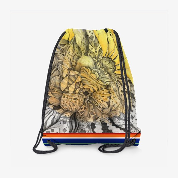 Рюкзак «Узор, орнамент, абстракция»