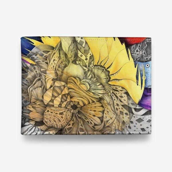 Кошелек «Узор, орнамент, абстракция»
