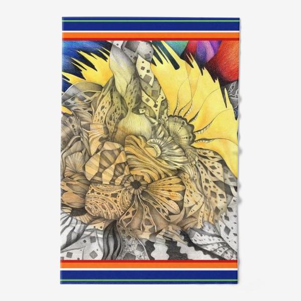Полотенце «Узор, орнамент, абстракция»