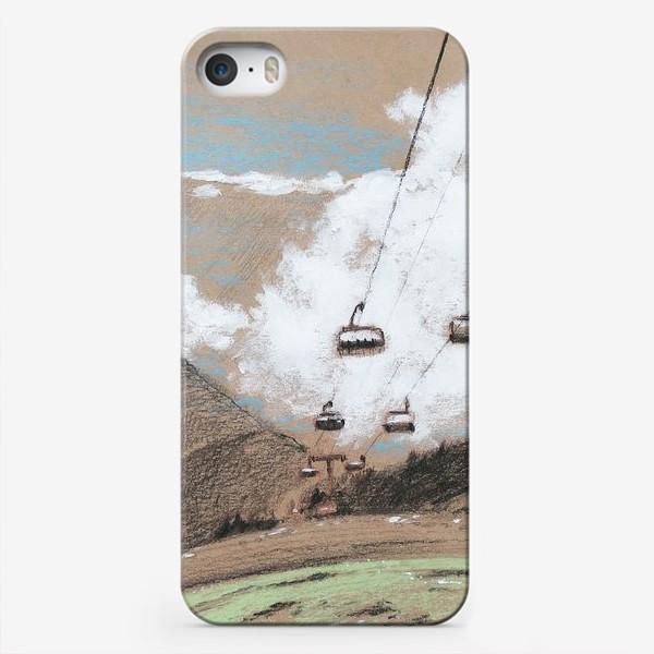 Чехол iPhone «Над облаками В горах»