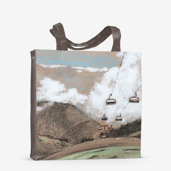 Сумка-шоппер «Над облаками В горах»