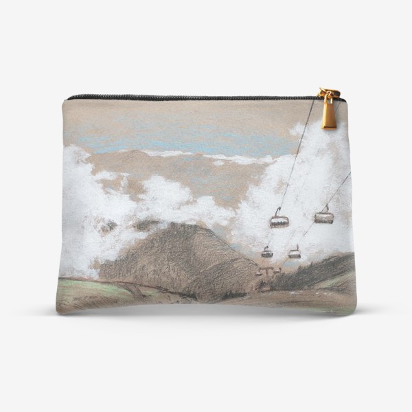 Косметичка «Над облаками В горах»