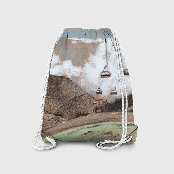 Рюкзак «Над облаками В горах»